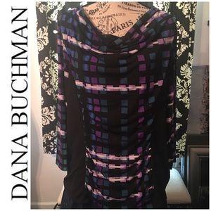 🆕 NWT! Dana Buchman Cowl Neck Blouse